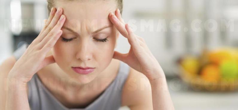 Acupressure: headache away with a handle