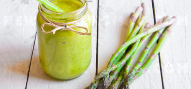 Asparagus: THIS smoothie really detoxifies!