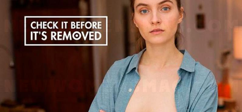 Clever breast cancer campaign plays with Facebook prudery