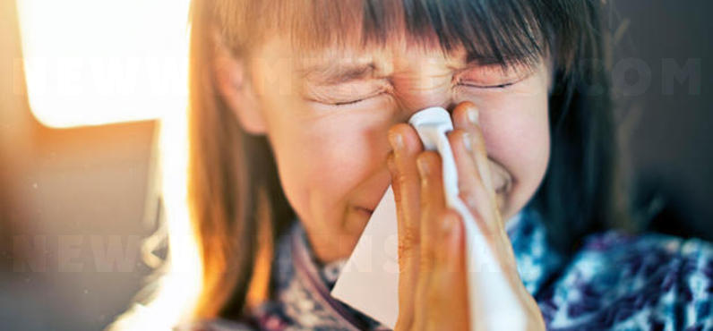 Why do you always sneeze two or three times?