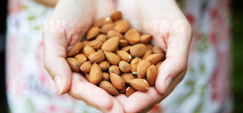 Why we should put almonds in water before eating