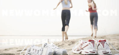 Barefoot jogging is healthy!